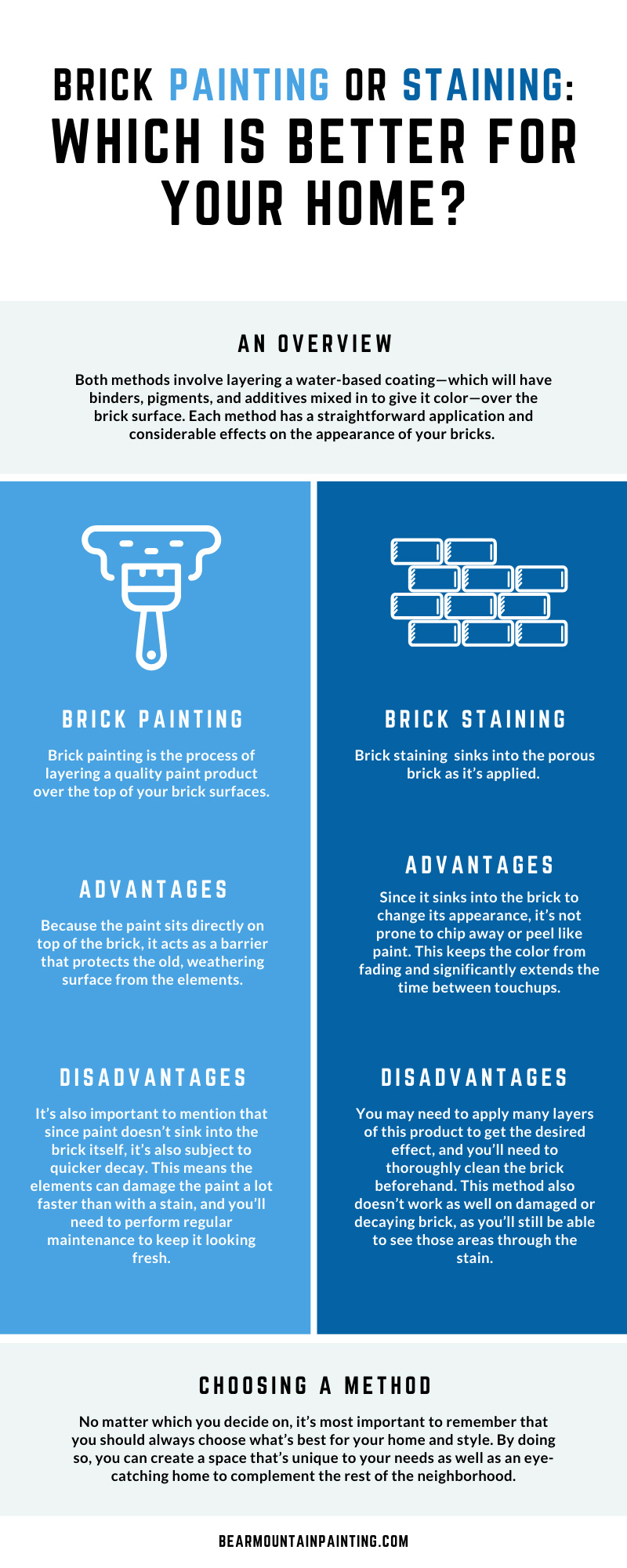 Brick Painting or Staining: Which Is Better